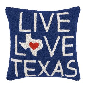 LIVE LOVE TEXAS HP PF 18X18""