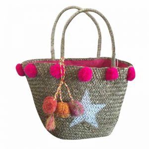 Pink star bag